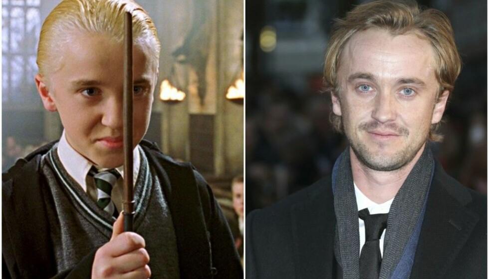 ELSKET SKURK: Tom Felton spilte rollen som Draco Malfoy så bra, at han fikk to priser for innsatsen. Foto: Harry Potter / NTB Scanpix