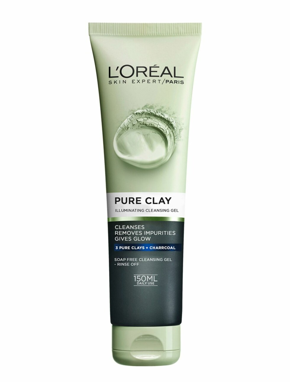 Cleasning gel fra L'Oreal  79,-  https://www.boozt.com/no/no/loreal-paris/pure-clay-glow-scrub_17466750/17466751?navId=67599&group=listing&position=1400000