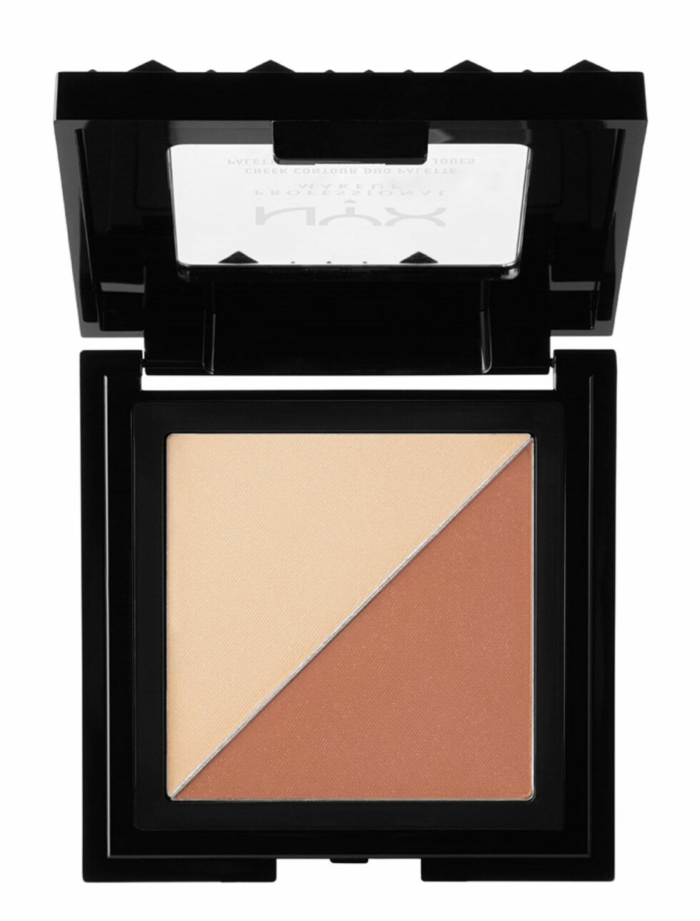 Contourpalett fra NYX  99,-  https://www.boozt.com/no/no/nyx-professionel-makeup/cheek-contour-duo-palet_16175667/16175952?navId=67599&group=listing&position=1400000