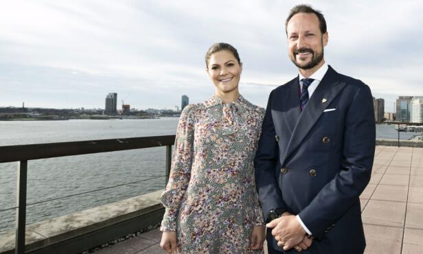 REPRESENTERTE SAMMEN: Kronprins Haakon av Norge og kronprinsesse Victoria av Sverige var til stede under FNs høynivåuke i New York i slutten av september. FOTO: Pontus Höök / NTB Scanpix