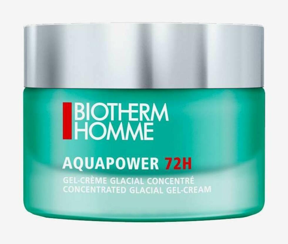 Biotherm Homme Aquapower |410,-| https://www.kicks.no/mann/ansiktspleie-for-menn/ansiktskrem-fuktkrem/aquapower-72h