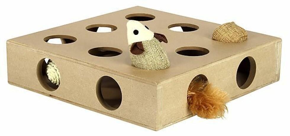 Leke til katt fra Clas Ohlson |129,-| http://www.clasohlson.com/no/Aktivitetsleke-for-katt/31-6006-2