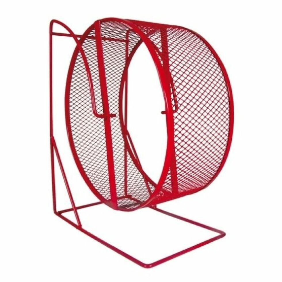 Hamsterhjul fra Petworld |190,-| https://www.petworld.no/no/artiklar/hamsterhjul-i-metall-22-cm.html