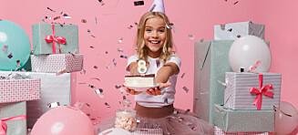 Ungar vil ikkje ha bursdagsfeiringar lenger. Dei vil ha kick-off!