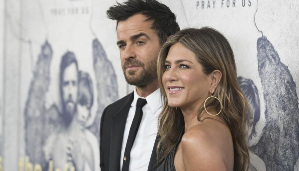 HVER TIL SITT: Justin Theroux og Jennifer Aniston gikk fra hverandre etter tre år som ektepar. FOTO: Scanpix