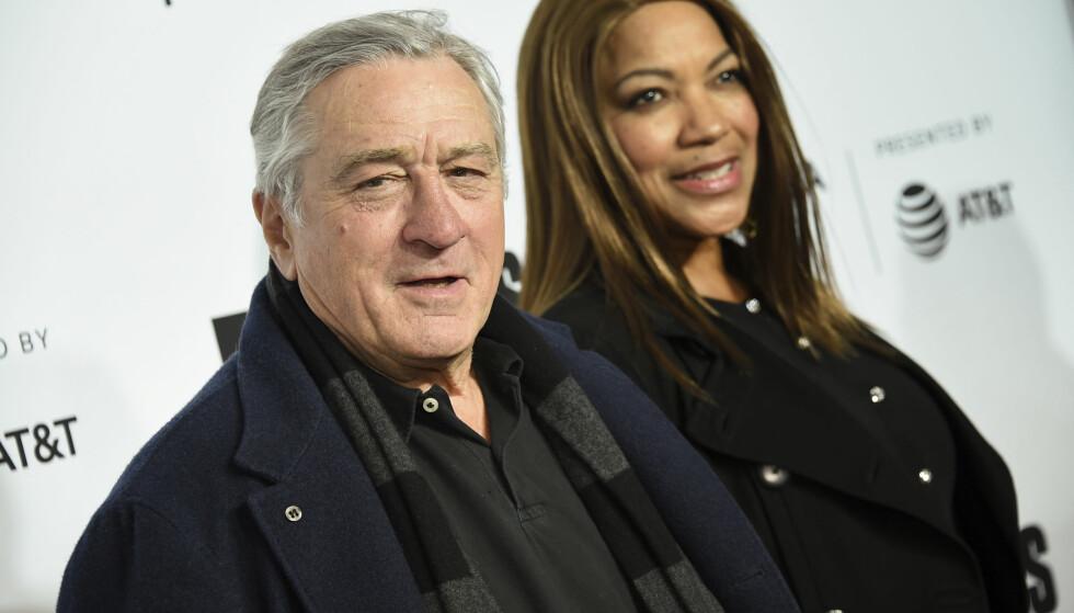 20 ÅR SAMMEN: Robert De Niro og kona Grace Hightower har gått hver til sitt. FOTO: Scanpix