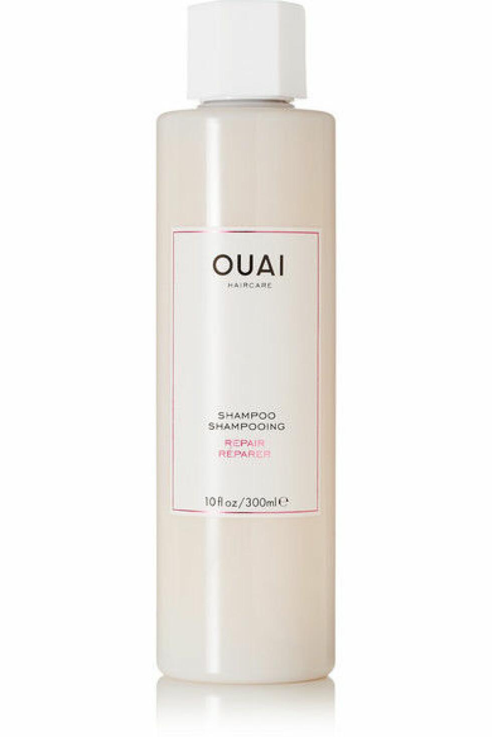 Sjampo fra Ouai |290,-|https://www.net-a-porter.com/no/en/product/766634/Ouai_Haircare/repair-shampoo-300ml