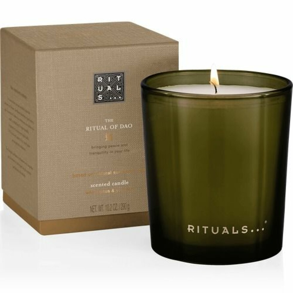Duftlys fra Rituals |215,-|https://www.rituals.com/no-no/the-ritual-of-dao-scented-candle-4632.html?source=cop#start=1