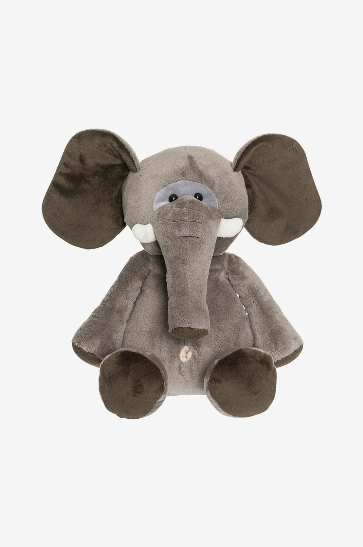 Kosedyr – elefant – fra Teddykompaniet |299,-| https://www.ellos.no/teddykompaniet/kosedyr-elefant-30-cm/1512041