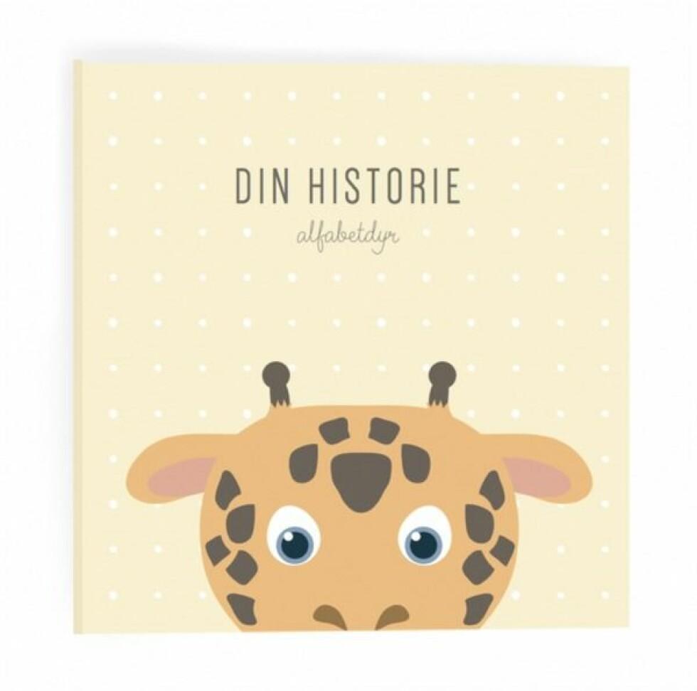 Din historie |489,-| https://www.drommebarn.no/products/alfabetdyr-din-historie-gul