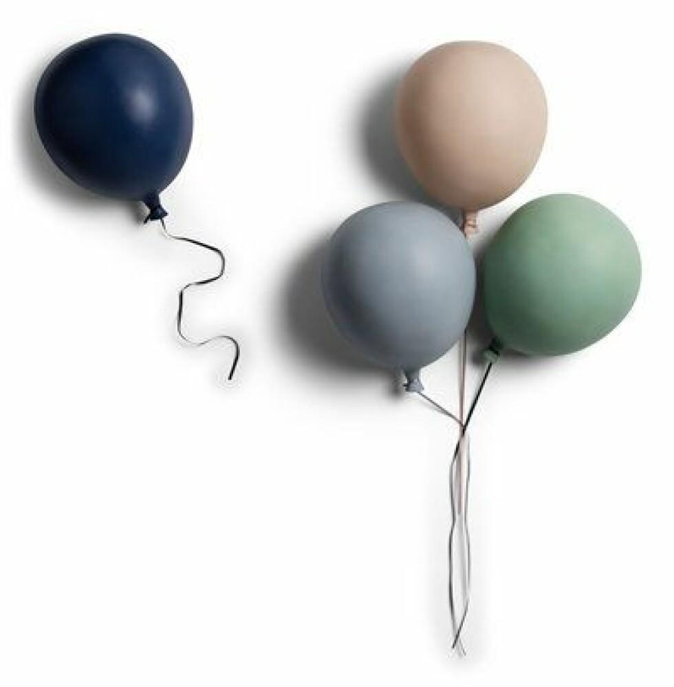 Ballonglampe |239,-| https://www.jollyroom.no/barnerommet/barnelamper-belysning/vegglamper/lilou-lilou-vegglampe-ballong-cream