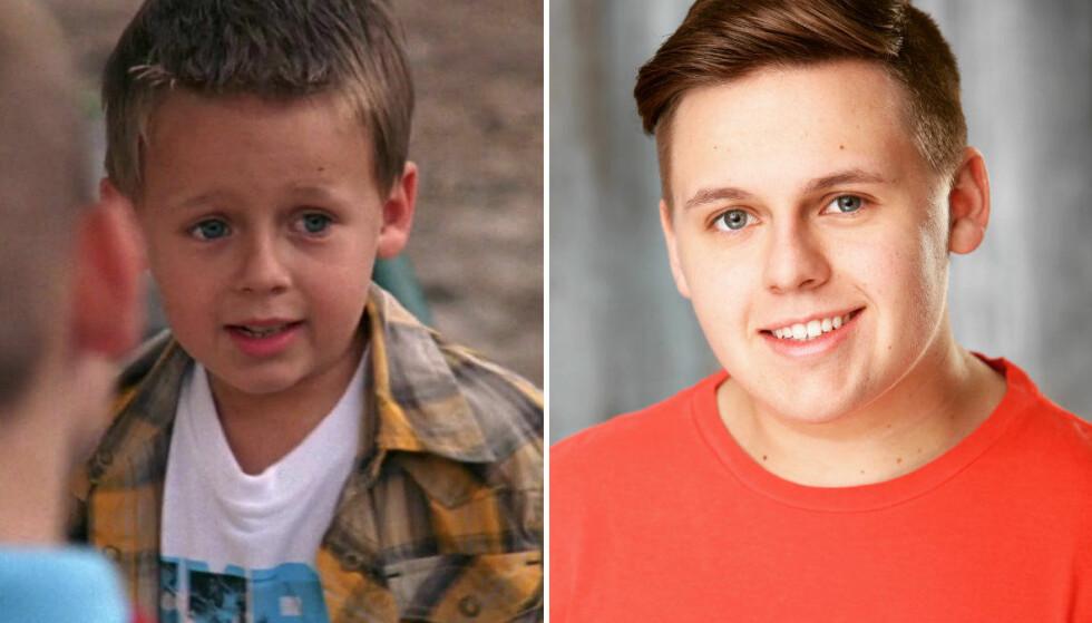 DA OG NÅ: Jackson Brundage stjal hjertene våre som Jamie Scott i «One Tree Hill». I dag er han 17 år gammel – men fortsatt nokså lik seg selv? FOTO: The CW/Instagram