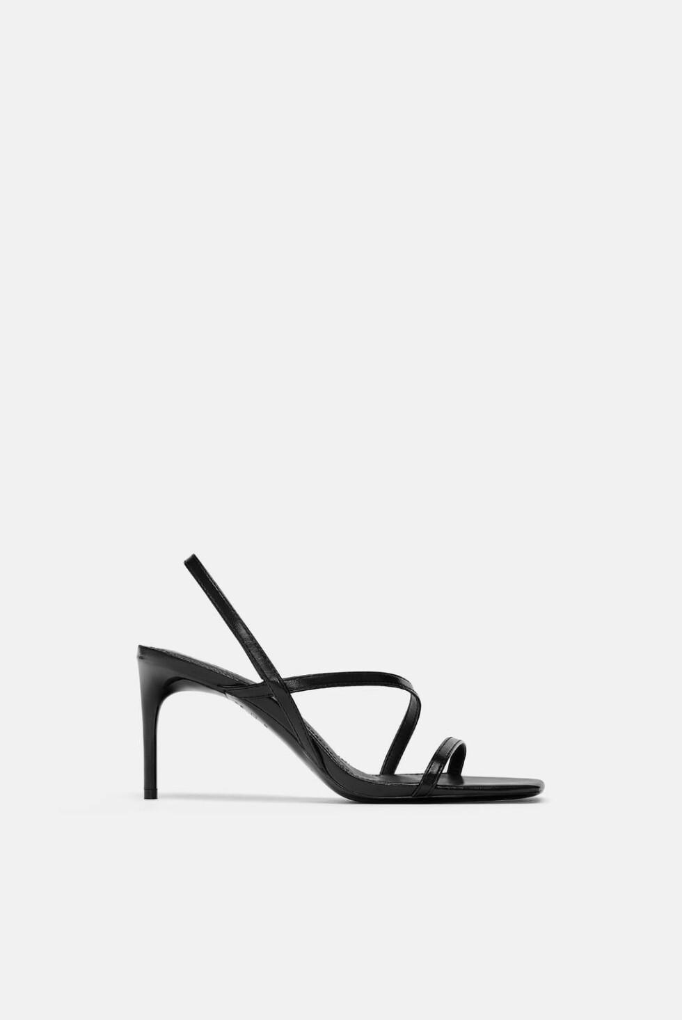 Sko fra Zara |559,-| https://www.zara.com/no/no/sandal-med-remmer-p13352001.html?v1=7887005&v2=1074802