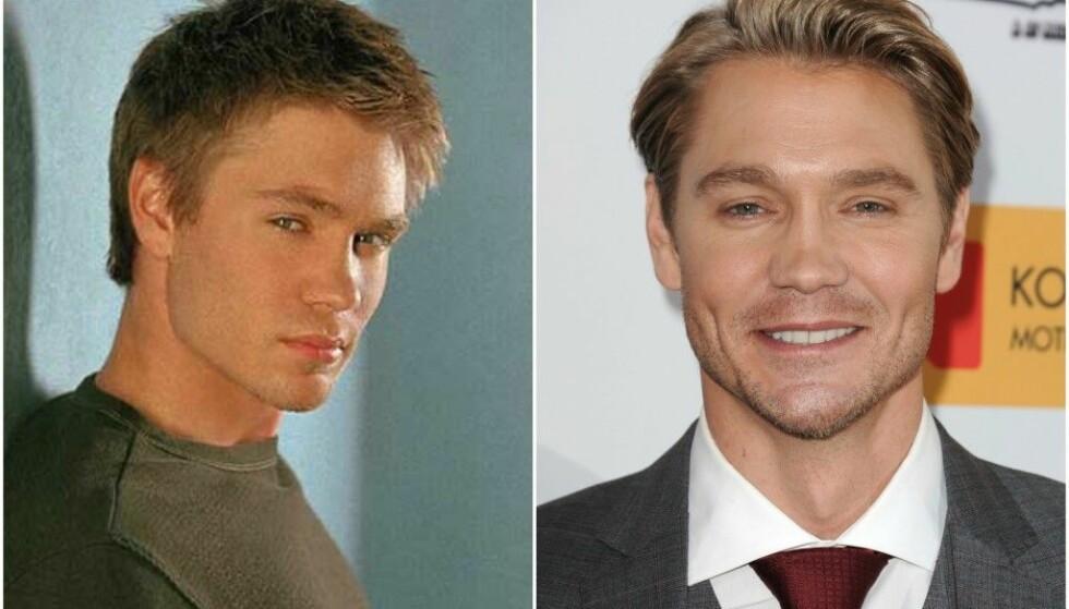 BLE BORTE: Chad Michael Murrays rollefigur, Lucas, var ikke (med unntak av et par små opptredener) med i de to siste sesongene av serien. FOTO: The CW/Scanpix