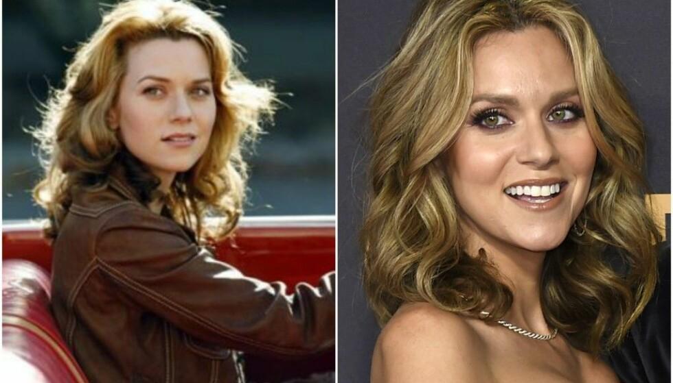 IKKE EN DAG ELDRE: Hilarie Burton er helt lik seg selv – selv 15 år senere. FOTO: The CW/Scanpix