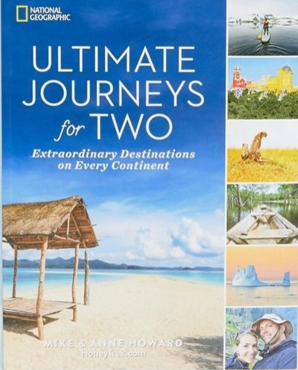 Bok  250,-  https://www.asos.com/books/ultimate-journeys-for-two-travel-book/prd/10768628?clr=multi&SearchQuery=&cid=28354&gridcolumn=1&gridrow=5&gridsize=4&pge=7&pgesize=72&totalstyles=560