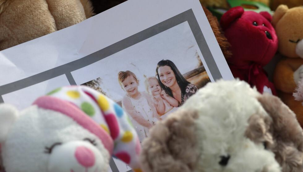 <strong>BLE FRARØVET LIVET:</strong> Tobarnsmoren Shan'ann Watts og hennes to døtre Bella og Celeste ble drept i august 2018. Drapsmannen var deres egen far og ektemann. FOTO: NTB Scanpix