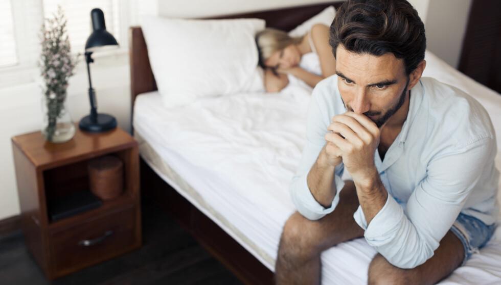 LITE SEXLYST: Lysten er ikke alltid på topp. Og i lange forhold må man rett og slett jobbe med å bevare seksualiteten. FOTO: NTB Scanpix