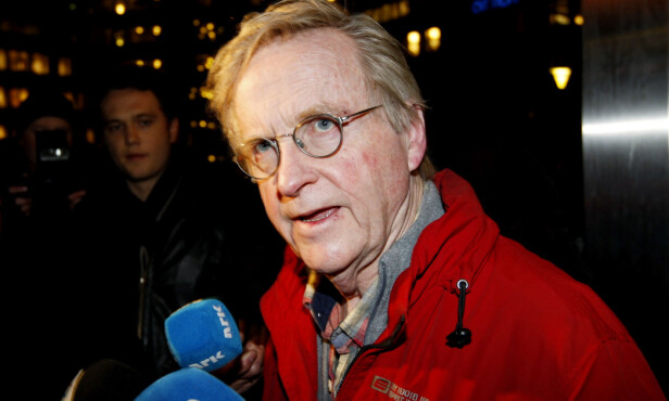FRITTALENDE: Forsvarer og høyesterettsadvokat Tor Erling Staff hadde ingen problemer med å si hva han mente høyt - heller ikke det hvor det ble ansett som politisk ukorrekt. Her er han fotografert i forbindelse med sitt oppdrag som forsvarer i Lommemannen-saken i januar 2008. FOTO: NTB Scanpix