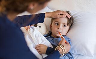 Forkjølet barn: Når skal du oppsøke lege?