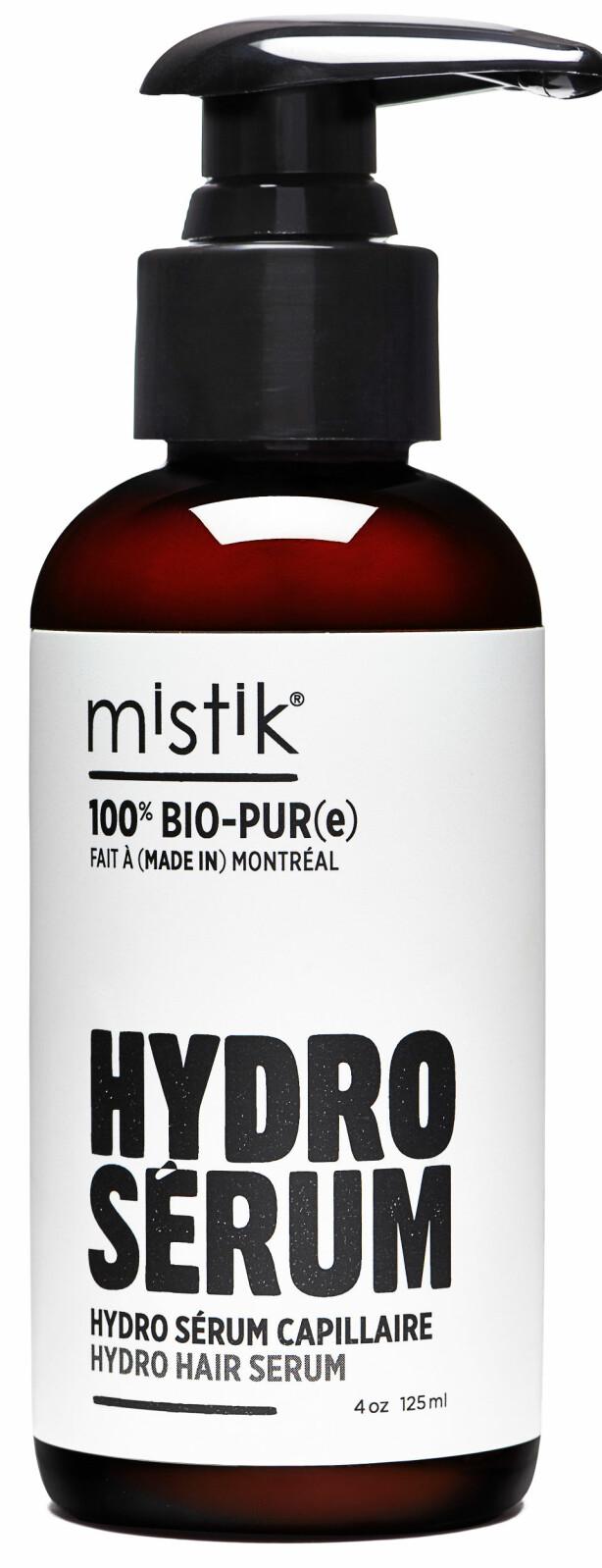 Serum med vitaminer og antioksidanter fra blåbær (kr 235, Mistik, Hydro Hair Serum Blueberry).