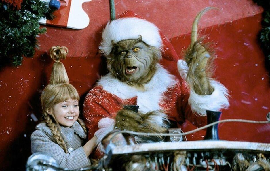 TAYLOR MOMSEN: Stjernen spilte seks år gamle Cindy Lou Who. FOTO: Skjermdump «Grinchen»