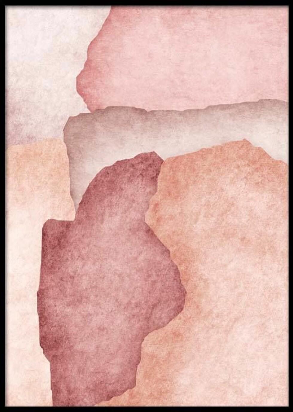 Plakat fra Desenio  69,-  https://desenio.no/no/artiklar/pink-watercolor-plakat.html