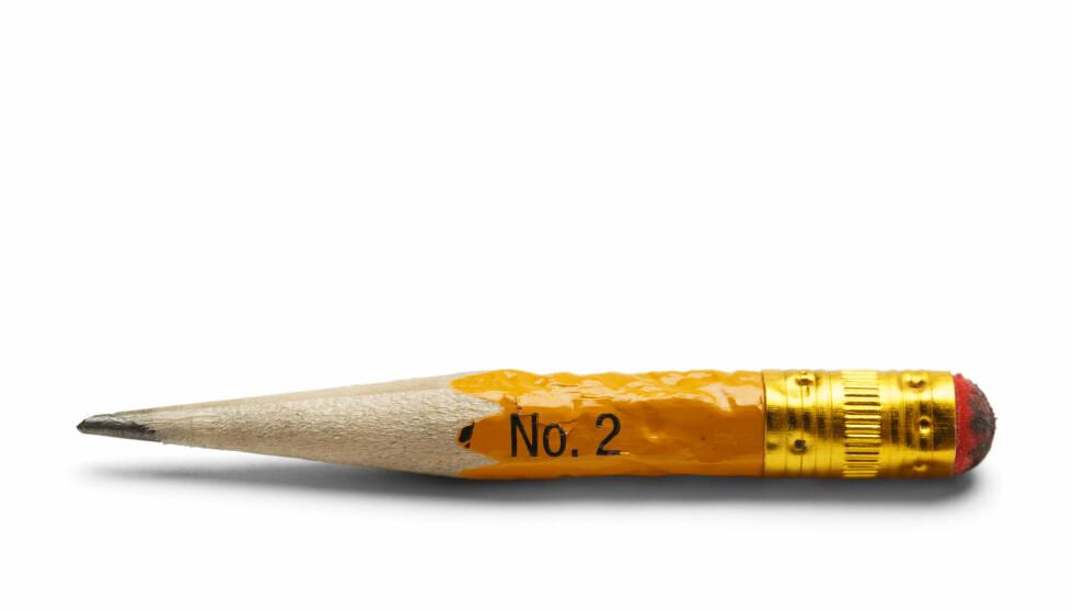 TILBAKE TIL START: Der batteriene måtte gi tapt kunne man ved hjelp av rå muskelkraft og en blyant spole seg tilbake til favorittlåten.