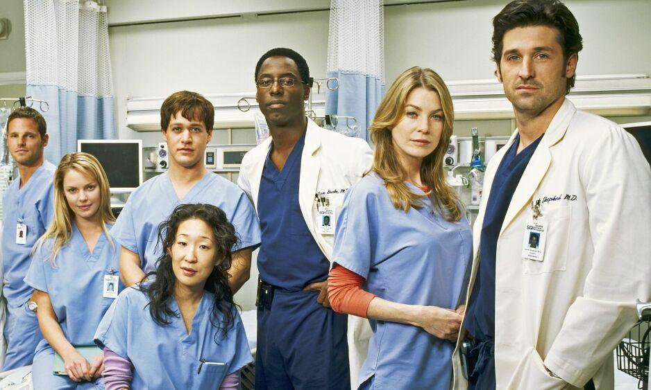 DEN GANG DA: «Grey's Anatomy»-gjengen i 2005. Nå er bare to av dem igjen i serien. FOTO: ABC