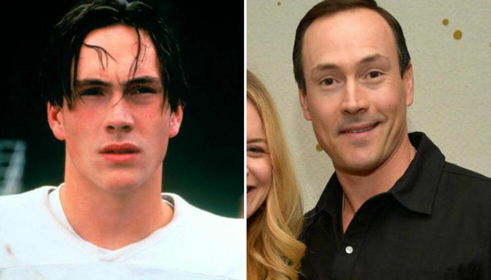DATET SUPERSTJERNE: Chris Klein var i et forhold med Katie Holmes fra 2000 til 2005. Duoen var til og med forlovet! FOTO: Skjermdump / Scanpix