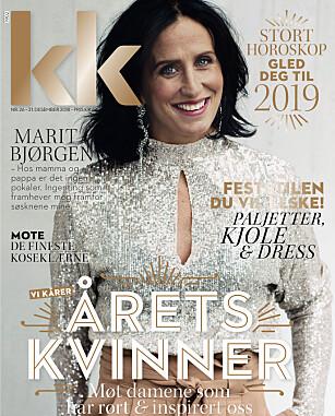 MARIT BJØRGEN ÅRETS KVINNE I KK 2018: Se flere av de fantastiske bildene av Marit Bjørgen i KK nr 26, i salg fra 21. desember. FOTO: Astrid Waller/KK