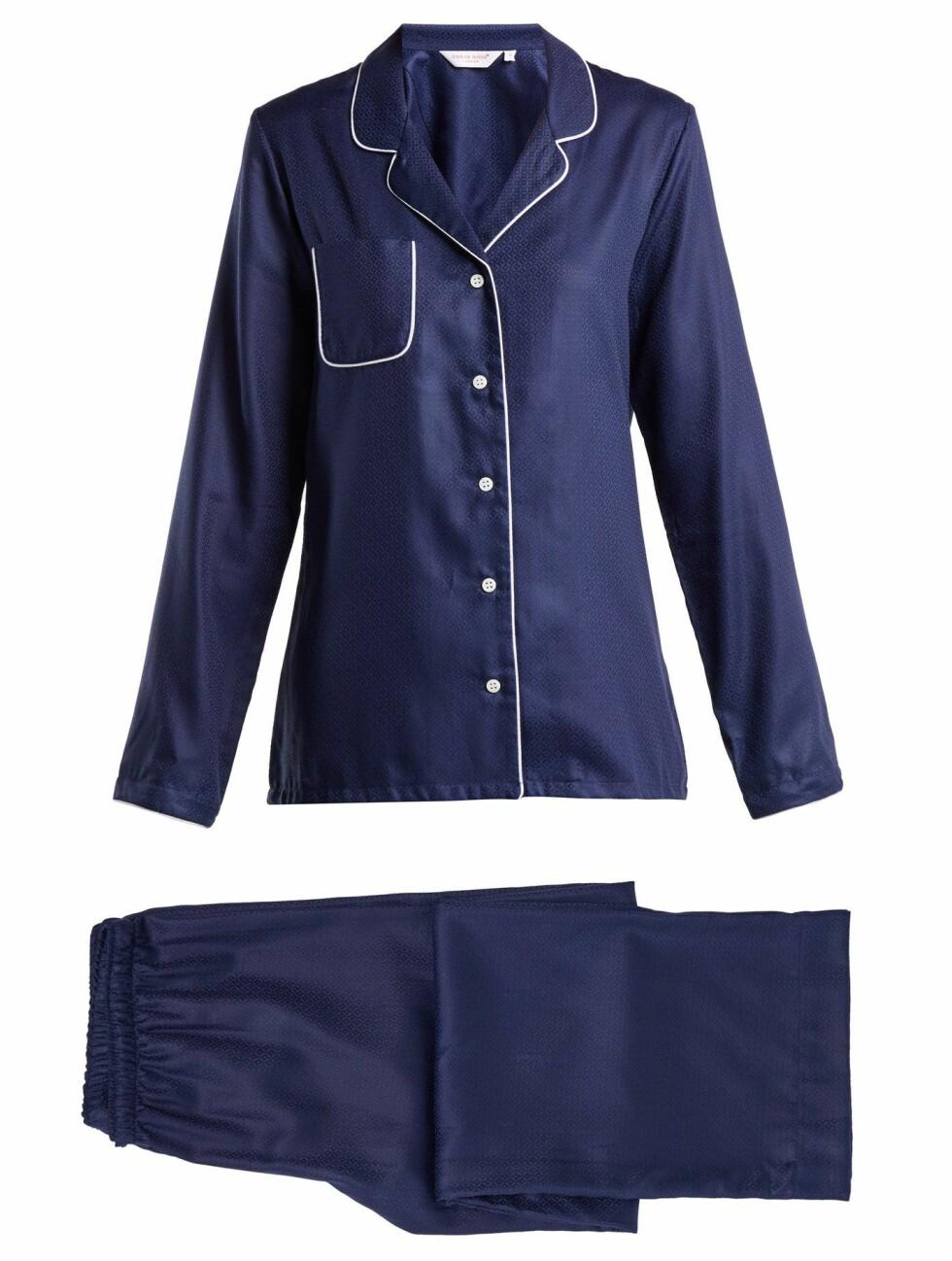 Pysj fra Derek Rose |1485,-| https://www.matchesfashion.com/intl/products/Derek-Rose-Lombard-6-cotton-pyjama-set-1207674