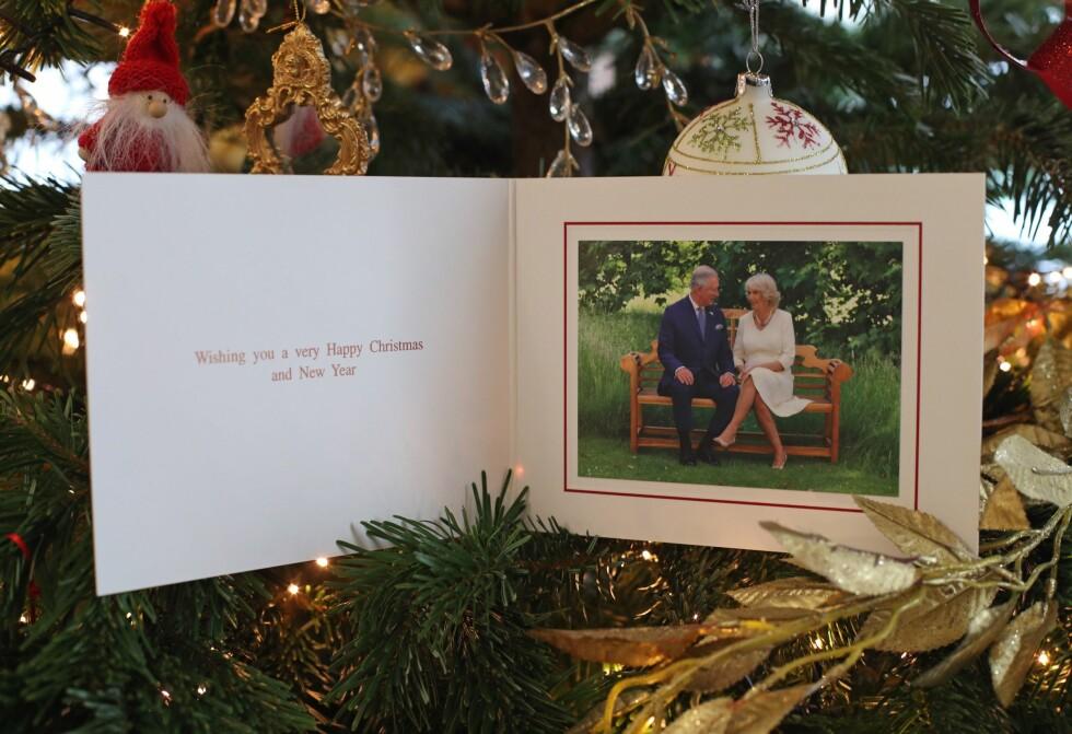 TRADISJONEN TRO: I år har prins Charles feiret 70-årsdagen sin. I den anledning ble det tatt en bilde av han og kona hertuginne Camilla - som de delte med folket i julen. FOTO: NTB Scanpix