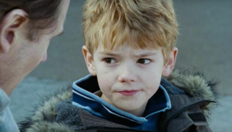 <strong>HJERTEKNUSER:</strong> Skuespiller Thomas Brodie-Sangster portretterte håpløst forelskede Sam i juleklassikeren «Love Actually» for 15 år siden. FOTO: Skjermdump