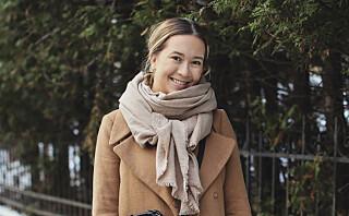 Maren (25) bruker førjulstida på å skaffe mat og gaver til andre