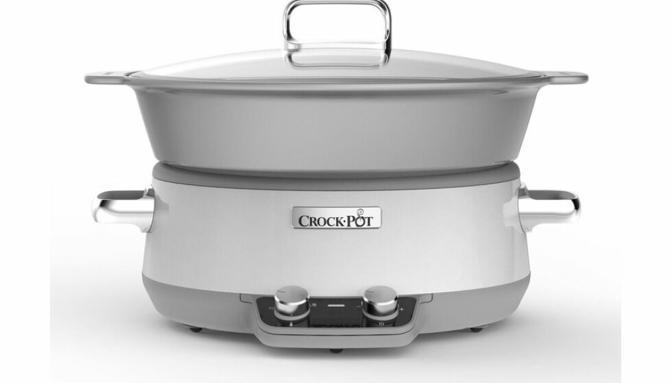 Slowcooker fra Crock Pot |1390,-| https://www.power.no/kjoekkenutstyr/kjoekkenapparater/frityr-og-koking/crock-pot-slow-cooker-cp201020/p-260515/?q=slow%20cooker