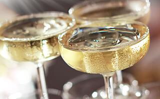 Glassene som egner seg best til champagne - hvis smaken er viktigst for deg