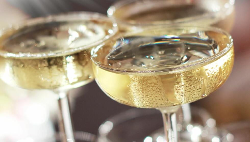 Dette er forskjellen på champagneglassene