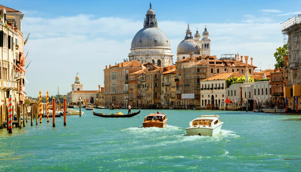 CRUISE: Venezia har i mange år vært et yndet mål for cruiseturistene. Foto: Shutterstock