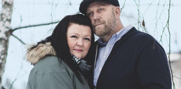KLIPPEN: Bente Linn og Kim har kjent hverandre siden de var tenåringer. Han har vært en helt uvurderlig støtte etter at sykdommen brøt ut. FOTO: Astrid Waller