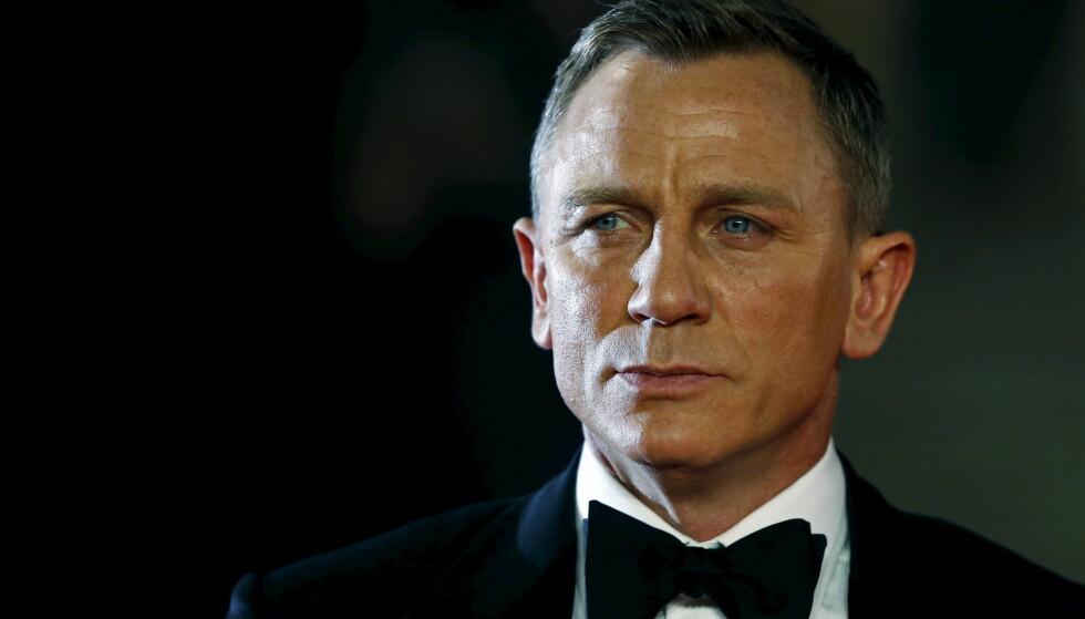 SØYFE OG SJELSLIV: Daniel Craig har tilført James Bond mer dybde og spenning, og mindre rulling under dyna. FOTO: NTB Scanpix