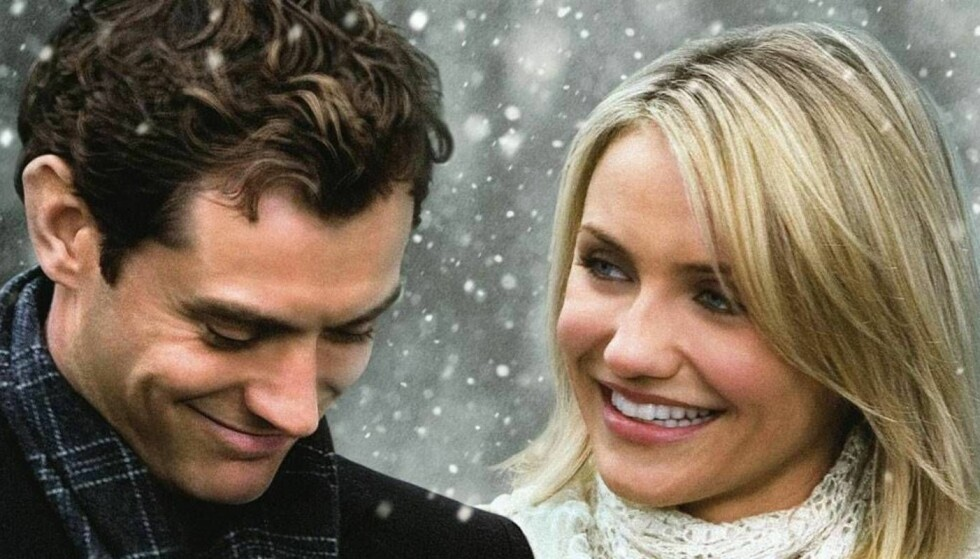 THE HOLIDAY: Jude Law og Cameron Diaz hadde to av hovedrollene i den legendariske juefilmen.