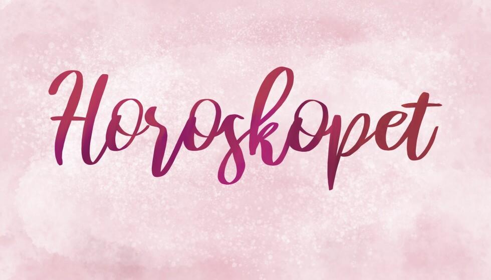 HOROSKOP 2019: Horoskopet gjelder for uke 2. ILLUSTRASJON: Kine Yvonne Kjær