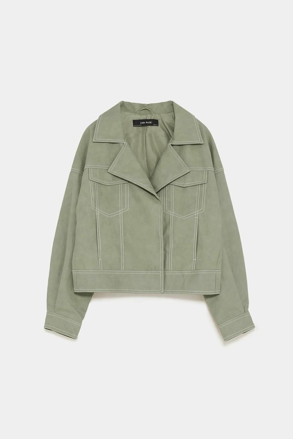 Jakke fra Zara |350,-| https://www.zara.com/no/no/ytterjakke-med-attersting-p03046255.html?v1=6483537&v2=1177565