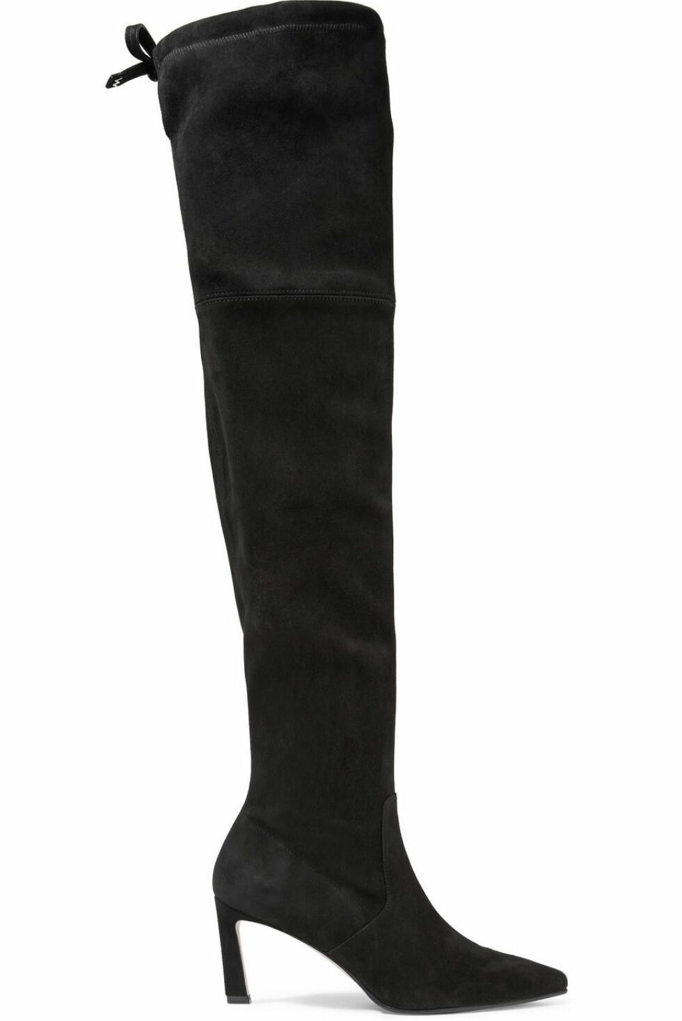Boots fra Stuart Weitzman |4000,-| https://www.net-a-porter.com/no/en/product/1060817/stuart_weitzman/natalia-suede-over-the-knee-boots