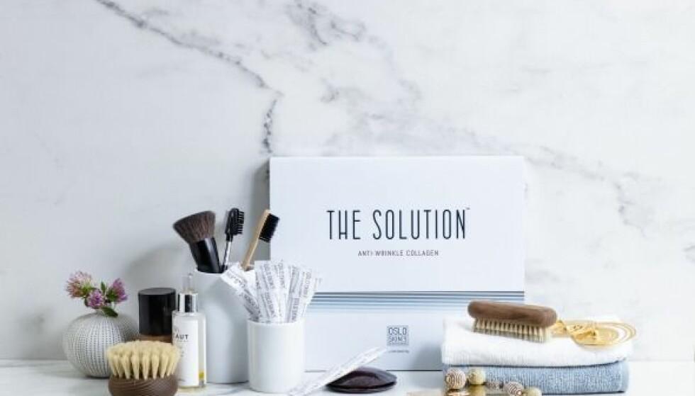 100% RENT KOLLAGENPULVER: The Solution er et smakløst kollagenpulver uten tilsetningsstoffer som pleier huden innenfra