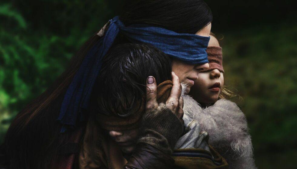 MYE OMTALT: Sandra Bullock spiller karakteren Malorie i Netflix' «Bird Box». FOTO: Netflix