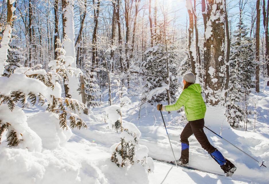 UT PÅ TUR: Vi har planer om flere skiturer denne vintersesongen og ønsker derfor å lære oss alt vi trenger å vite for en optimal tur. Foto: Scanpix