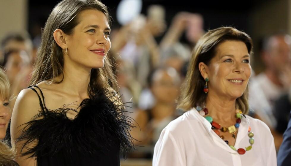 FYRSTEFAMILIEN: Charlotte Casiraghi er datteren til prinsesse Caroline av Monaco, og barnebarnet til avdøde fyrstinne Grace og fyrst Rainier III. FOTO: NTB Scanpix