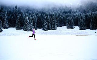 Derfor bør du løpe ute – også om vinteren